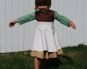 Cinderella Work Dress custom size 6 months to girls 10 for your practical princess Cinderella signature on apron