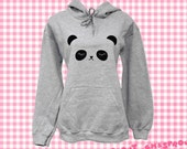 Sleepy Panda Hoodie - Size Medium - Unisex