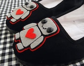 Love-Bot Robot Mary Jane Shoes - size 8