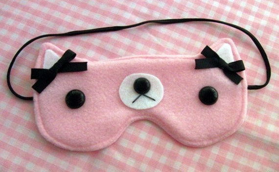 Calm Kitty Sleepy Eye Mask