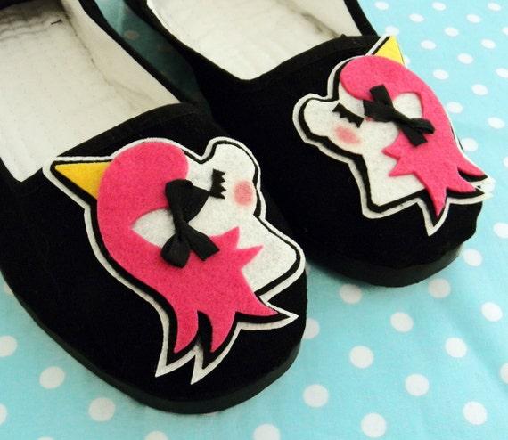 Unicorn Shoes - Kawaii MAGICAL Mary Jane Shoes - Adult Size 9
