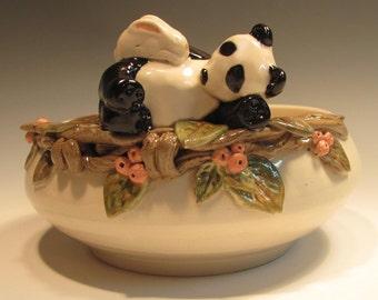 Pottery Bowl, Naptime