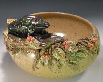 Pottery bowl, Fagin