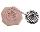 MOLD - ASIAN CHARM 2 - Handcrafted Polymer Clay Mold