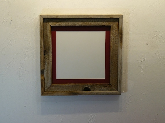 Simple Reclaimed 12x12 Frame 10x10 Mat By Barnwood4u On Etsy
