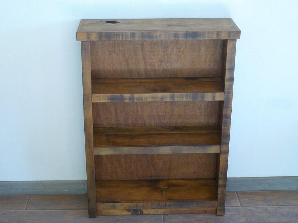 Bookshelf reclaimed wood