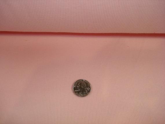 Pink Cotton Lycra  Rib 1 YD