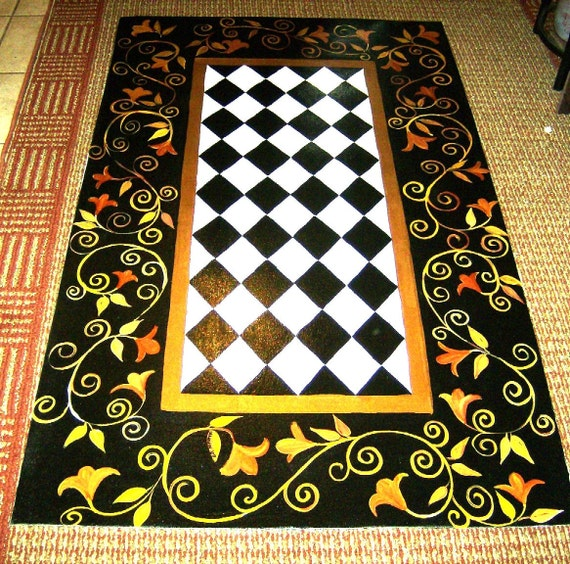 FLOORCLOTH FRENCH COUNTRY 3'x5
