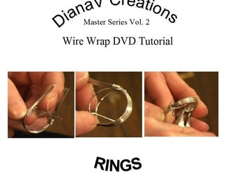 Wire Wrap RING DVD Tutorial Instruction