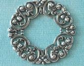 Silver Filigree Wreath 2625