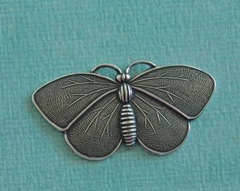 Silver Butterfly Charm 2108