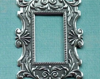 Ornate Silver Frame 1913