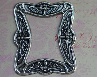 SALE Silver Butterfly Frame Finding 1537