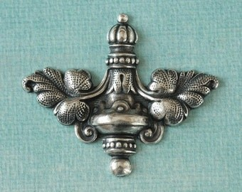 Silver Ornate Finding 2568