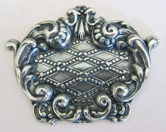 Silver Ornate Finding 2941