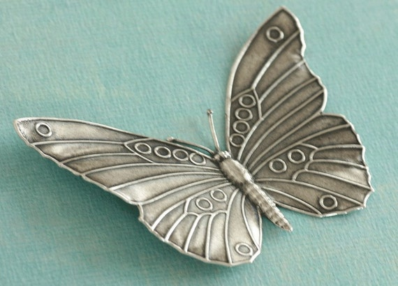XLarge Silver Butterfly 2430