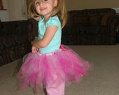 Pretty as a Princess Pink Tutu-RESERVED FOR JACK AND JILLS MOM