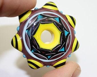 Mandala Disk Bead (30)
