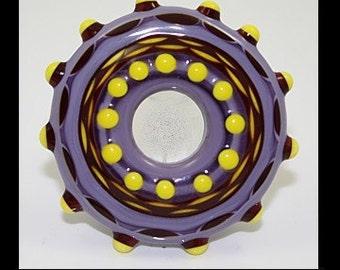 Mega Mandala disk Bead (11a)