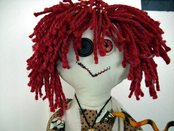 Zombie Mommie - Katy-Jo Cuttlebone - OOAK Art Doll