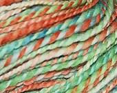 Stawberry Fields - handspun falkland wool