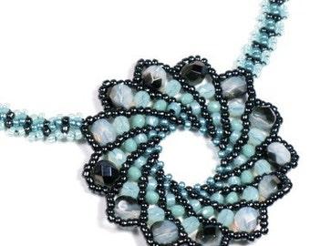 Minty Swirl Necklace