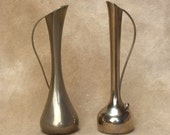 Bud Vases for your Spring Flowers Vintage Silver