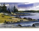 Original Watercolor 63 - by Jean Hutter