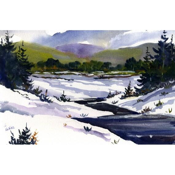 Original Watercolor 53 - by Jean Hutter