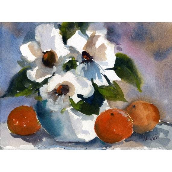 Original Watercolor 69 - by Jean Hutter