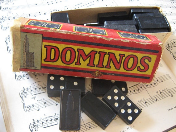Vintage Dominos