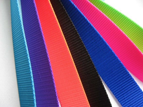 Nylon Webbing One And One Quarter Inch For Purses Totes Belts Dog Collars