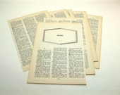 Vintage - Music - 8 pages - 1965