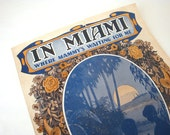 Rare - 1919 - In Miami - Where Mammy's Waiting For Me - Sheet Music - Leo Feist