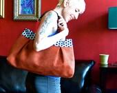The Jackie Bag in Rust