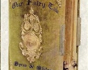 qty 100 Wedding Favors Storybook Programs (inside & outside printing)