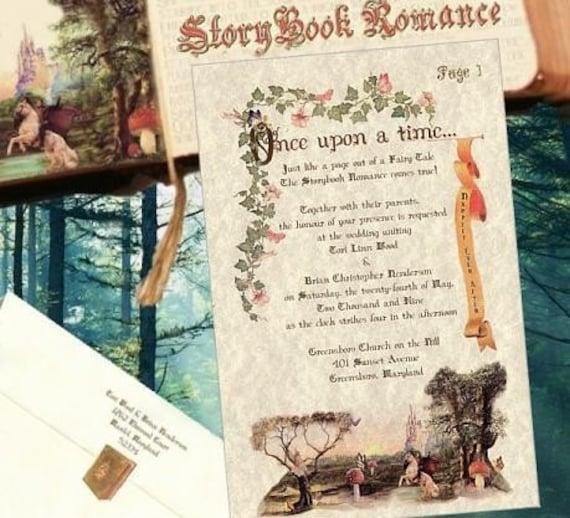 like this item - Fairy Tale Wedding Invitations