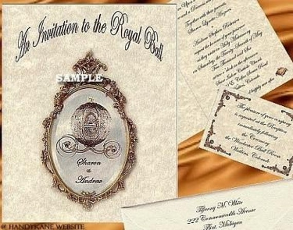 regal cinderella fairy tale favors quinceanera wedding