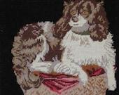 King Charles Cavalier Spaniel Pillow SALE New Zealand Wool Dog Retail 189