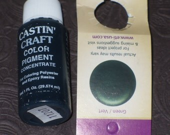 Green Opaque 29ml Pigment Dye Colorant Resin Epoxy Tint Castin' Craft