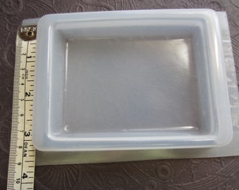 """Resin Mold Rectangle Base Belt Buckle Paperweight 88 x 68mm 3.5"""""""