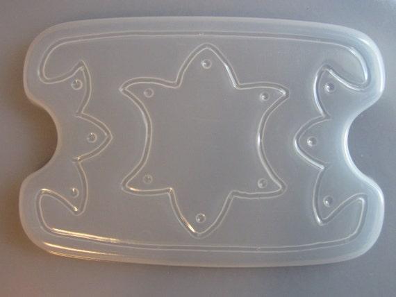 "Resin Mold Decorative Box & Lid Set 7x5"" 17x13cm Gift Trinket Coin Design"