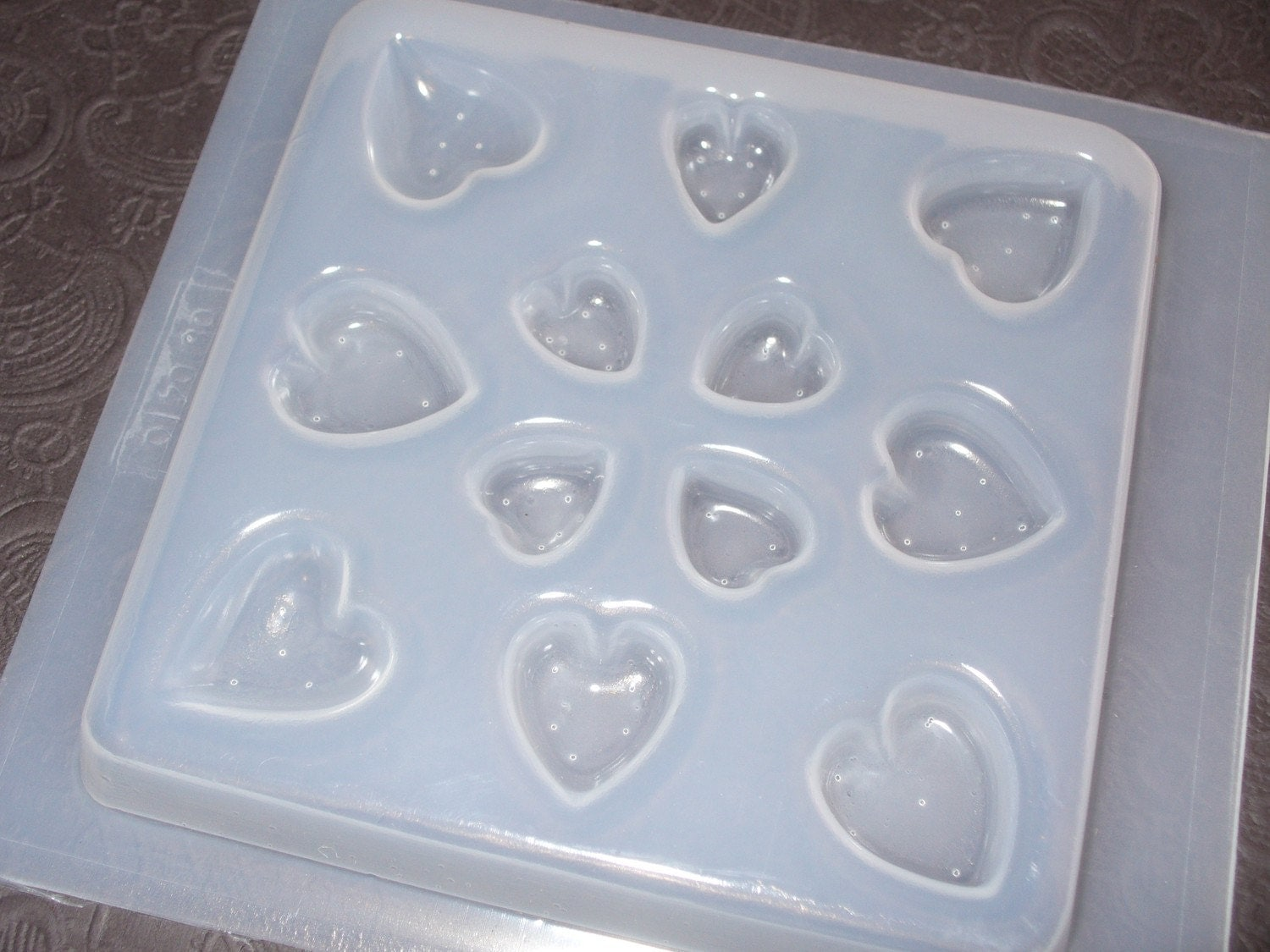 resin mold 12 count jewelry 5 sizes by stainedglasskarin