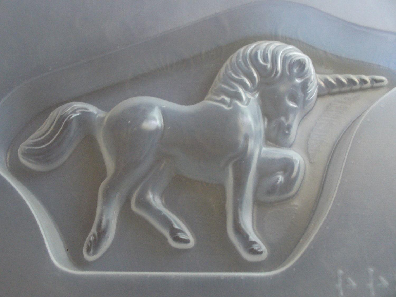 Resin Mold Unicorn Horse 7x4 188x108mm Chocolate Fondant