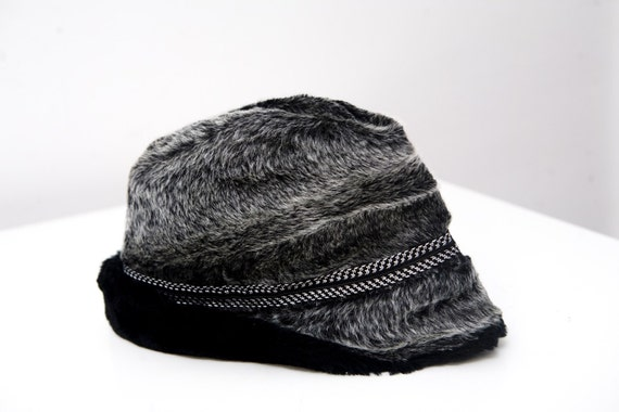Vintage Faux Fur Winter Fedora