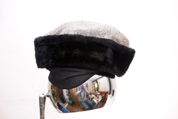 Vintage Faux Fur Winter Fedora