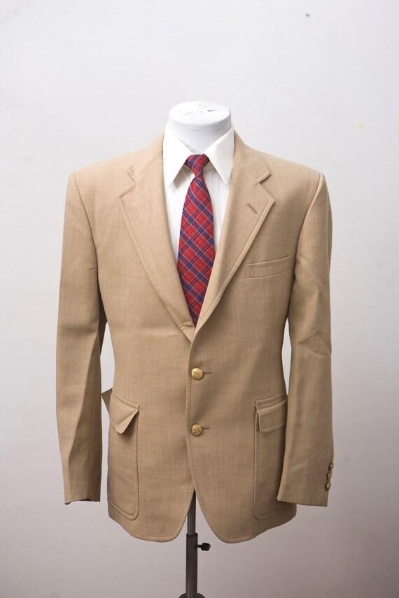 Size 44 Vintage Cotton Palm Beach Sport Coat