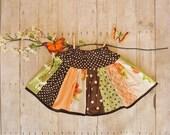 COLETTE Twirl Skirt ORANGE CRUSH 4\/5 - ETHIOPIA Adoption Fund