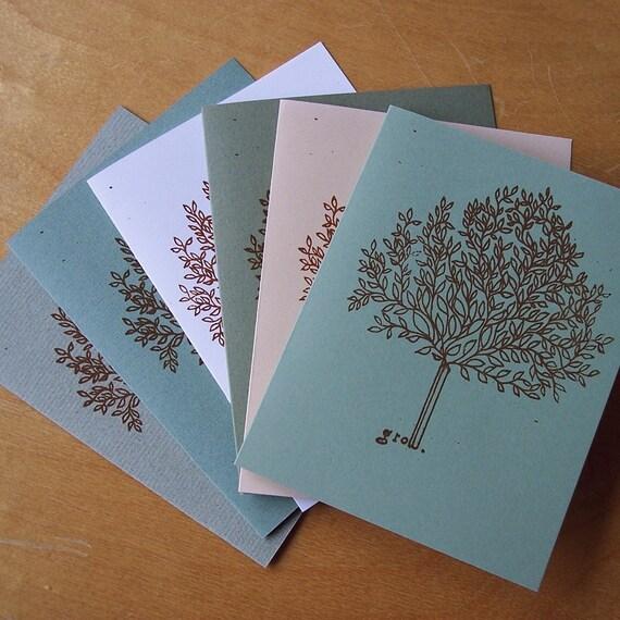 Grow Notecard Set