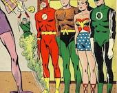 Justice League Of America No. 11 Vintage Comic Book Silver Age